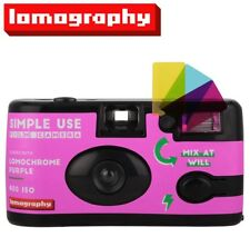 Lomography LomoChrome Purple 400 36exp 35mm Disposable SIMPLE USE Film Camera