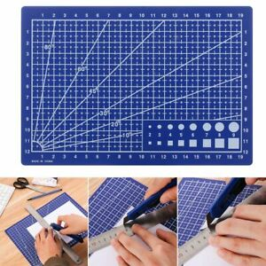 Craft Card Paper Board A5 Grid Lines Cutting Mat Sewing Tool Cutting Plate