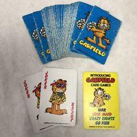 Vintage 1978 Garfield Playing Card