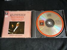 **JAPAN CD** BEETHOVEN SYMPHONIES NOS 5+8 CD KLEMPERER/PHILHARMONIA ORCH.EMI 85