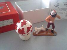 Tintin, Milou et le champignon, figurine issue de l'Etoile mystérieuse (ref 4517