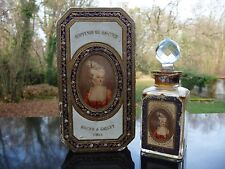 Flacon Ancien BACCARAT - SOUVENIR DE LA COUR de R. & GALLET - Coffret - Perfume