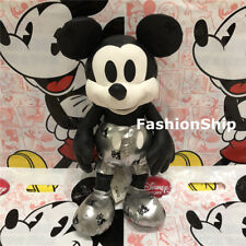Mickey mouse memories limited january plush Disney store Steamboat Willie BNWT