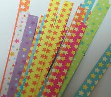 50strip Star Folding Paper star pattern Lucky Wish Star Origami Paper star