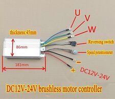 1pcs DC12V-24V brushless motor controller High Power Driver 360W-700W 30A
