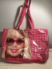 """Barbie Large Tote/Beach Bag With Inside Pocket 16""""x11""""x4"""""""