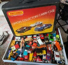 HUGE LOT x129 VINTAGE DIECAST CARS HOT WHEELS / MATCHBOX 1980s !  COLLECTION W@W