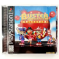 Buster Bros. Collection (Sony PlayStation 1, 1997) Complete Tested & Works