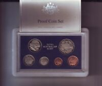 1983 Australia Proof Coin Set with Foams & Certificate  N-127
