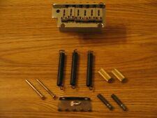Fender USA Chrome Stratocaster Tremolo Bridge w/ Mounts