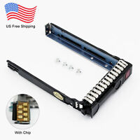 "For HP 651687-001 2.5"" SFF SAS SATA HDD Tray Caddy 4 G8 Gen8 G9 DL380p DL360p"