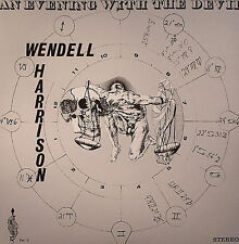 WENDELL HARRISON An Evening With The Devil TRIBE RECORDS Sealed Vinyl Record LP