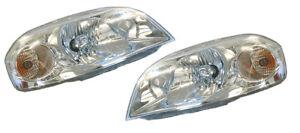 Holden TK Barina Sedan Headlights Head Lights Lamps Set 2006-2011 *New*