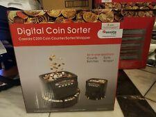 Canadian Cassida C200 Digital Coin Countersorterwrapper