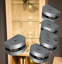 LED 3 Seiten Glaskantenbeleuchtung Set Clip Glasbodenbeleuchtung NEU Mod.2295-96
