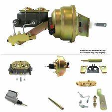 "60-62 Chevrolet Truck MT FW Mount Power 8"" Single Booster Kit LS Swap Disc/Drum"