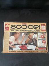 Scoop Board Game - Waddingtons Vintage
