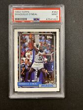 1992-93 Topps Shaquille O'Neal Rookie PSA 9