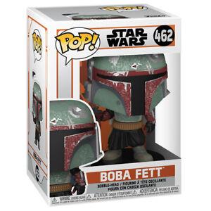 Funko POP! The Mandalorian Boba Fett Figure 462 Vinyl Bobble-Head Star Wars