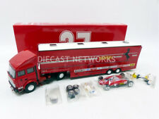 Brumm FERRARI RACE TRANSPORTER SCUDERIA FERRARI 1982 Iveco / 126 C2 1/143 New!