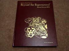 Palladium Beyond the Supernatural Second Edition hardcover rulebook