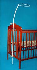 Titulaire pour lit bébé canopy mosquito Draper rod bar clamp pole lit bébé