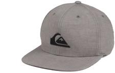 QUIKSILVER Platypus Tan & Black Stretch Fit Flexfit S/M Cap Hat $32