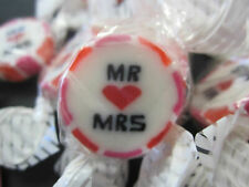 Pink and Red Mr & Mrs Favours, rock, sweets, candy