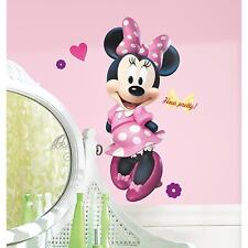 Disney MINNIE MOUSE BOW-tique GIANT wall stickers MURAL 17 decals party decor