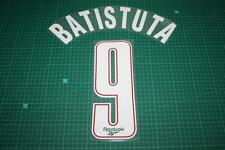 Fiorentina 95/96 #9 BATISTUTA Homekit Nameset Printing