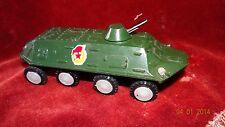 Vintage metal toy armored vehicle