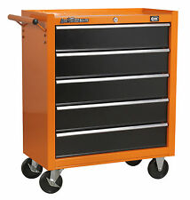 DJM American Pro 5 Drawer Roll Cab Roller Cabinet Bottom Metal Steel Tool Box
