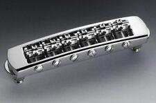 Schaller 'Tune-o-matic' style Roller STM Bridge, Chrome 12080200
