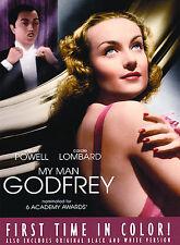 My Man Godfrey - William Powell, Carole LOMBARD 1936 (DVD 2005) FS COLOR NR