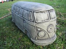 vw camper stone garden ornament <<VISIT MY SHOP-MORE GARDEN ORNAMENTS>>