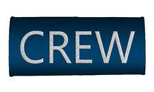 CREW Handle Wraps, CREW LUGGAGE TAGS-BLUE x2