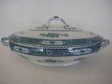 Vintage Warwick Royal Semi-Porcelain Wood & Sons Covered Vegetable Dish (Rare)