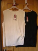 Jack Wills Aldern Pleat Detail Top Black White 8 10 12 14 16 NEW (tags) RRP £39