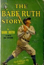 The Babe Ruth Story by Babe Ruth - Paperback - VERY RARE 1st PRINT January, 1948