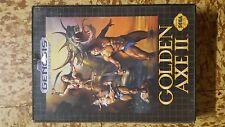 Golden Axe II in box with no manual Sega