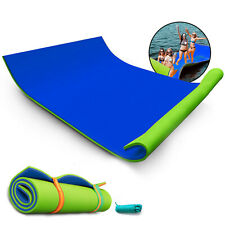 18X6Ft Floating Water Mat Water Foam Mat Lily Pad Lake Pool Simple To Handle