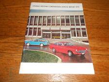 1970 GENERAL MOTORS ANNUAL REPORT / '70 GM BROCHURE / 1971 Cars Trucks &MORE