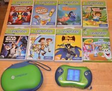 Leapster 2 Leap Frog 8 Cartridge Games Star Wars Batman Wolverine Toy Story Nemo