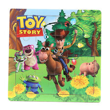 1 PCS Wooden Toy Story Jigsaw Puzzles Toys for Boys & Girls Ages 3+ (TS-W)