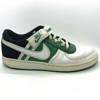 Nike Vandal Low Men's Pine Green White Shoes Size 10 Strap Retro 312456-311