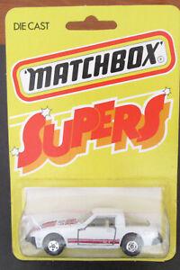 """Lesney Matchbox #31 MAZDA RX7 RARE """"SUPERS"""" card Japan JDM Hong Kong Rotary"""