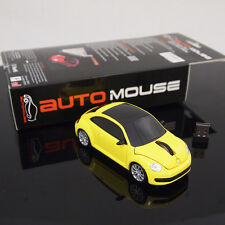 AutoMouse Volkswagen The Beetle Car,2.4GHz Wireless Laser Optical Computer Mouse