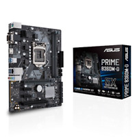 Asus PRIME B360M-D Processor family Intel, Processor socket LGA1151, DDR4,...