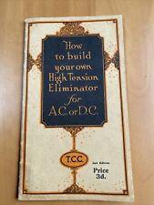 More details for tcc build high tention eliminator 1920s/1930s - l84
