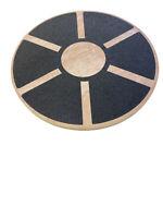 Fitvando BalanceBoard - Wackelbrett aus Holz - Therapie-Kreisel für Koordination